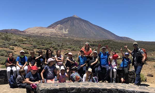 Ruta guiada para niños en Las Cañadas del Teide