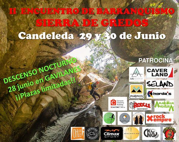 Participación en el II Encuentro de Barranquismo en Sierra de Gredos